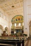 церковь внутрь стоковое фото