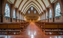 церковь внутрь Стоковое Изображение RF