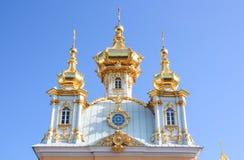 Церковь дворца святой Питера и Паыля в Peterhof Стоковые Фотографии RF