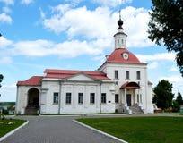 Церковь воскресения благословленное в Kolomna России стоковые изображения