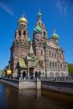 Церковь воскресения Санкт-Петербурга Стоковые Фотографии RF