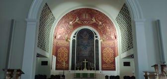 Церковь восхождения лютеранина бога стоковая фотография rf