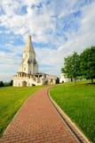 церковь восхождения стоковое изображение rf