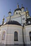 Церковь восхождения в foros в Крыме стоковое фото