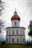 Церковь восхождения на держателе Sekirnaya Стоковое Фото