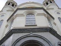 Церковь всех Святых в Екатеринбурге Стоковая Фотография