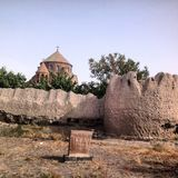 Церковь в Армении Стоковые Изображения RF