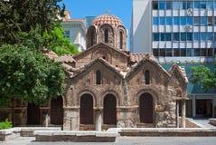 Церковь в Афинах. Стоковое фото RF