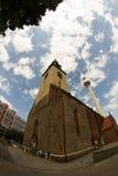 Церковь в Берлине, Германии Стоковое Фото