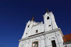 Церковь в ВПТ, Венгрия ВПТ, 24-ое ноября 2015 Стоковое Изображение RF