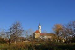 Церковь в ВПТ, Венгрия ВПТ, 24-ое ноября 2015 Стоковая Фотография RF