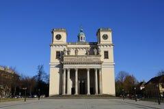 Церковь в ВПТ, Венгрия ВПТ, 24-ое ноября 2015 Стоковые Фотографии RF