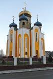 Церковь в городе Sovietsk (бывший Tilsit) Стоковое Изображение RF