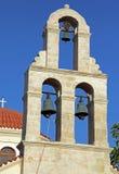Церковь в деревне Panormo на Крите, Греции стоковое изображение
