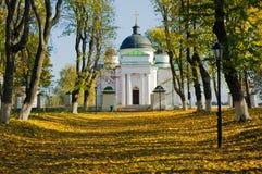 Церковь в зоне Украине Kachanovka Чернигова имущества Стоковые Изображения RF
