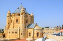 Церковь в Иерусалиме, Израиле Стоковое Фото