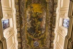 Церковь в кампании Сорренто, Италия Madonna del Кармина стоковая фотография rf