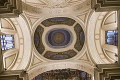 Церковь в кампании Сорренто, Италия Madonna del Кармина Стоковые Изображения