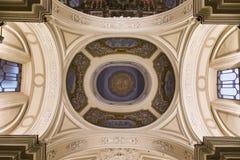 Церковь в кампании Сорренто, Италия Madonna del Кармина стоковое фото rf