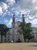 Церковь в Каунасе, стоковые изображения