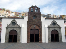Церковь в Ла Gomera San Sebastian de Стоковые Фотографии RF