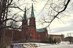 Церковь в неоготическом стиле Стоковое фото RF