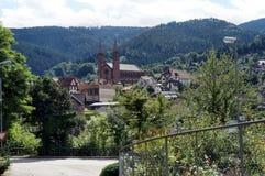 Церковь в долине Murg в черном лесе Стоковая Фотография RF