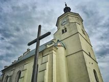 Церковь в Польша стоковые фото