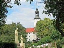 Церковь в Польша Стоковое фото RF