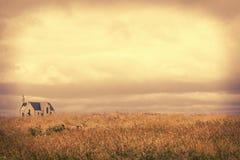 Церковь в сельской местности Sligo Стоковое фото RF
