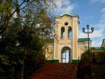 Церковь в сибирском городе Томска стоковое изображение