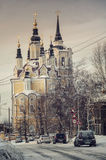 Церковь в Томске Стоковая Фотография