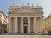 Церковь в Триесте стоковая фотография