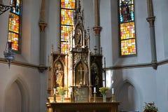 Церковь в южной Германии Стоковая Фотография