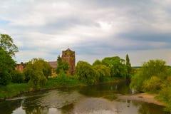 Церковь в Atcham, Shropshire Eata святой Стоковая Фотография