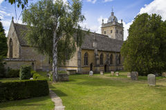 Церковь в bourton на воде Стоковые Изображения