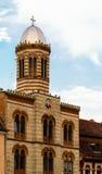 Церковь в Brasov, Трансильвании, Европе Стоковая Фотография RF