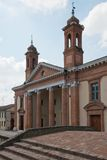 Церковь в Comacchio Стоковые Фотографии RF