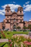 Церковь в Cusco стоковое фото rf