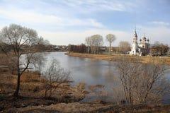 Церковь в Fall River Стоковое Фото