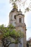 Церковь в Faro, Алгарве, Португалии Стоковое Изображение RF