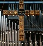 Церковь в Gentofte Стоковое Изображение