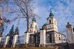 Церковь в Klimontow стоковые изображения rf