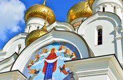 Церковь в Kostroma, России Стоковое фото RF