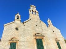 Церковь в Lastovo 1 Стоковое Изображение RF