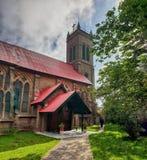 Церковь в Murree Пакистане стоковая фотография rf