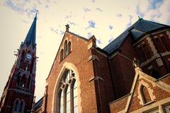 Церковь в Naperville, Иллинойсе Стоковые Фото