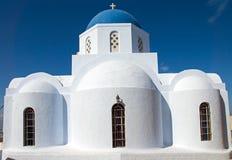 Церковь в Pyrgos стоковая фотография rf