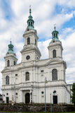 Церковь в Radomsko стоковая фотография