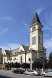 Церковь в Ruzomberok Стоковое фото RF